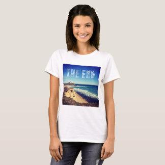 Cute Montauk The End women's t-shirt
