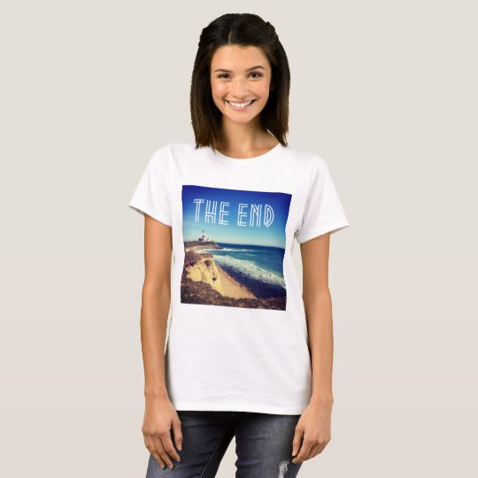 Cute Montauk The End women's t-shirt