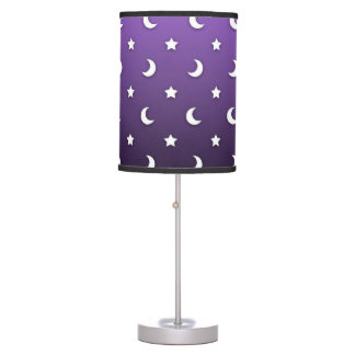 Cute Moons and Stars Table Lamp
