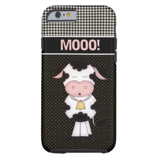Cute MOOO! Cow iPhone 6 Case