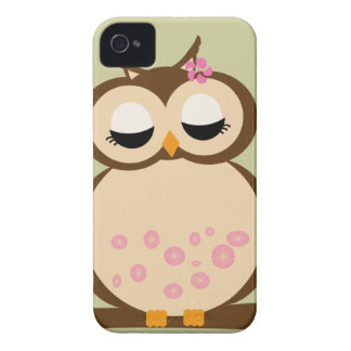 Cute Mother Owl iPhone 4 Cases