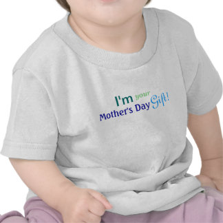 Cute Mother s Day Gift - Blue Shirt