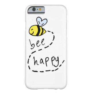 Cute Motivational Bee iPhone 6 Case Barely There iPhone 6 Case