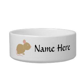 Cute Mouse. Bowl