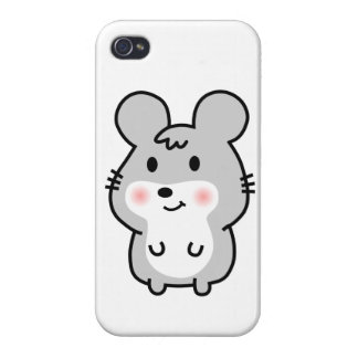 Cute mouse cover for iPhone 4