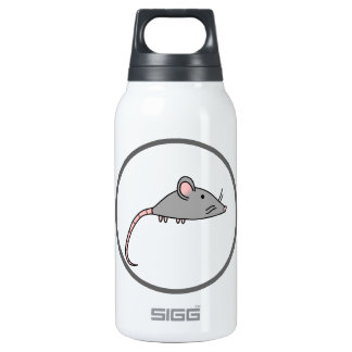 Cute Mouse Insulated Water Bottle