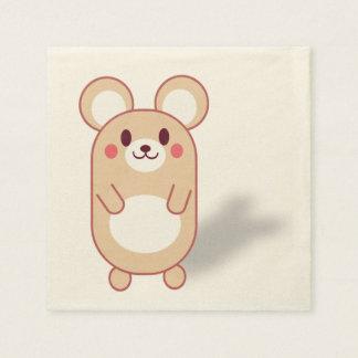 Cute mouse napkin disposable napkins