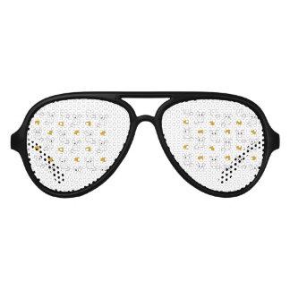 Cute Mouse pattern Aviator Sunglasses