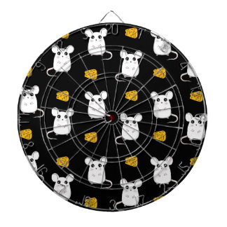 Cute Mouse pattern Dartboard