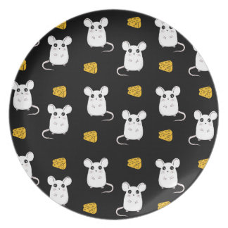 Cute Mouse pattern Plate