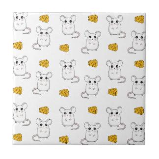 Cute Mouse pattern Tile