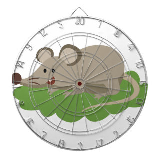 cute mouse rat dartboard