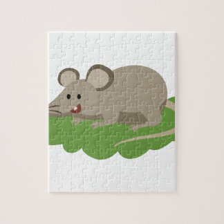 cute mouse rat jigsaw puzzle