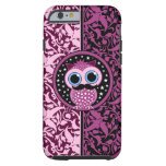cute moustache owl tough iPhone 6 case