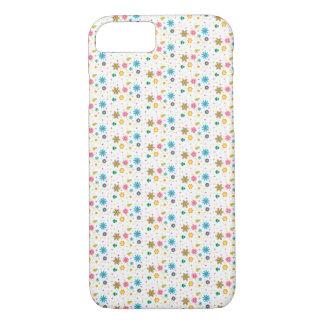 Cute Multi-Colored Floral Design - iPhone 7 Case