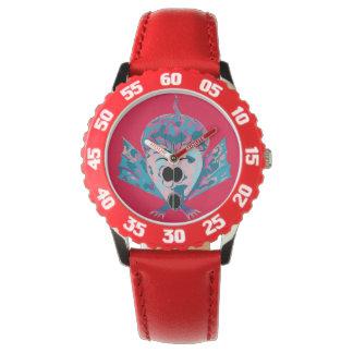 cute multicolored fishy cartoon for wrist watch