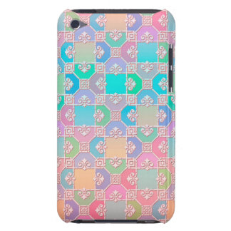 Cute Multicolored Squares Fancy Pattern iPod Touch Cover