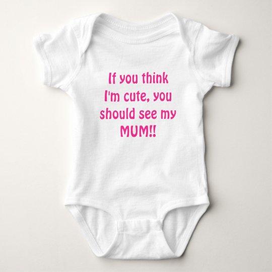 Cute Mum t-shirt