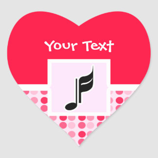 Cute Music Note Sticker