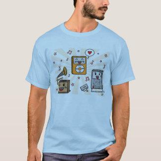 Cute Music Players - Men's T-Shirt