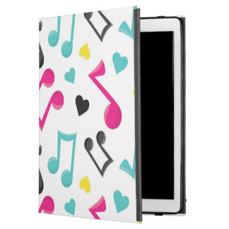 cute musical notes pattern iPad Air Pro case