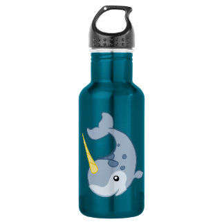 Cute Narwhal 532 Ml Water Bottle