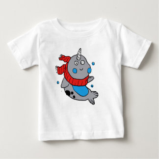 cute narwhal baby T-Shirt
