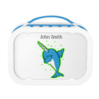 Cute Narwhal Dabbing Lunch Box