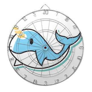 Cute Narwhal Dartboard