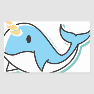 Cute Narwhal Sticker
