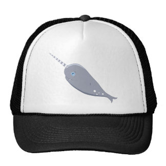 Cute Narwhal Trucker Hat
