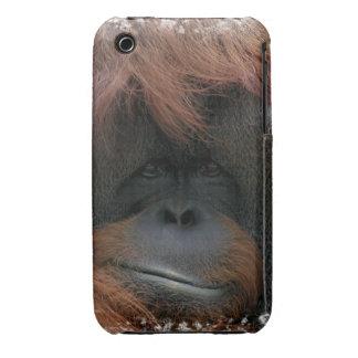 Cute Nature Orangutan iphone 3 Case