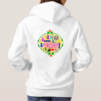 😻🐾↷❤Cute Naughty Cat Family Fabulous Hoodie