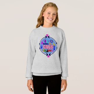 😻🐾↷❤Cute Naughty Cat Family Fabulous Must-have Sweatshirt