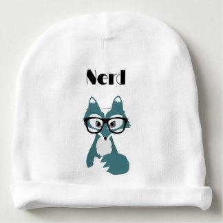 cute nerd baby beanie