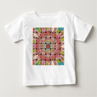 Cute Nice and Lovely Woven Design Baby T-Shirt