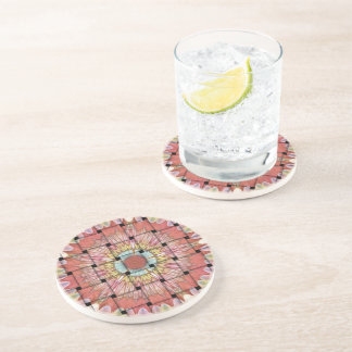 Cute Nice and Lovely Woven Design Coaster