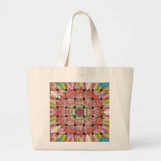 Cute Nice and Lovely Woven Design Large Tote Bag