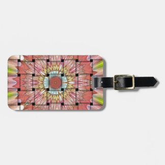 Cute Nice and Lovely Woven Design Luggage Tag