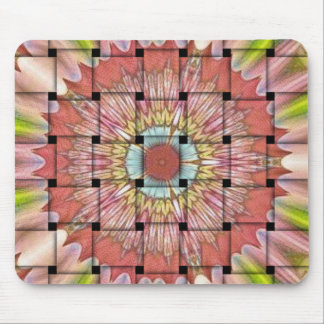 Cute Nice and Lovely Woven Design Mouse Pad