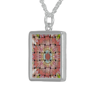Cute Nice and Lovely Woven Design Sterling Silver Necklace