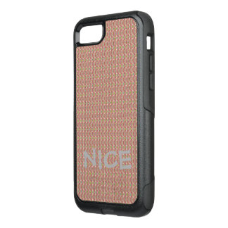 Cute Nice colorful patches abstract geometric OtterBox Commuter iPhone 8/7 Case