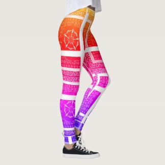 Cute nice lovely colorful leggings