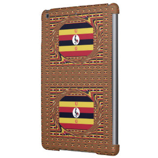 Cute Nice Lovely Monogrammed Black Yellow Red UG iPad Air Case
