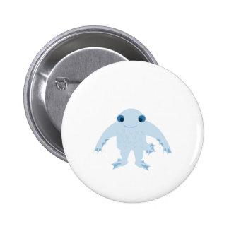 Cute Ningen Pinback Button