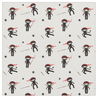Cute Ninjas Fabric