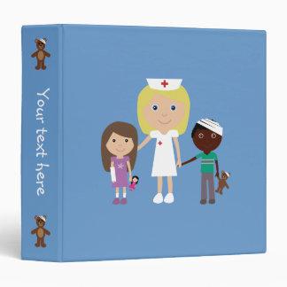 Cute Nurse & Children Binder