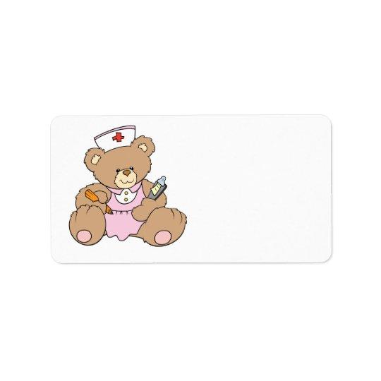 Cute Nurse RN Bear
