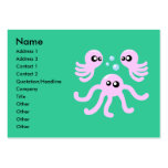 Cute Octopus Business Cards Chubby Business Cards