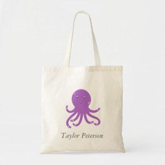 Cute Octopus Kids Tote Bag